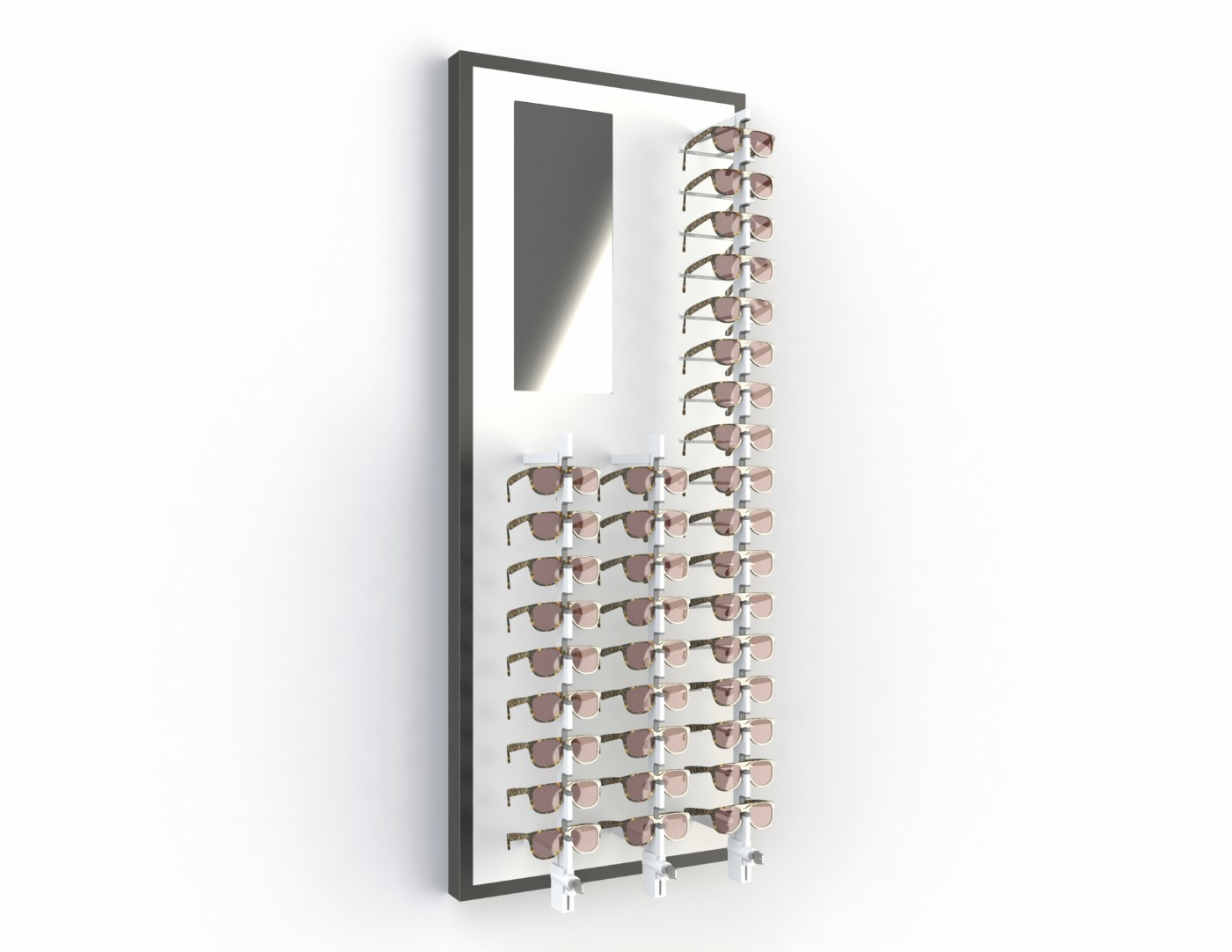 <strong>#58183B/L</strong><br>3x Alumina<br>Mirror<br>35 frames